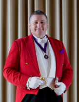 The Giant Wedding Show toastmaster